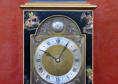 Chinoiserie carriage clock. c.1960