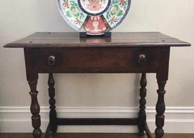 An 18th Century English Oak Lowboy