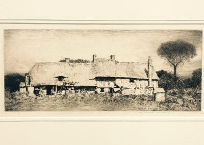 Mortimer Luddington Menpes (1855-1938) Cottage at West Hendred