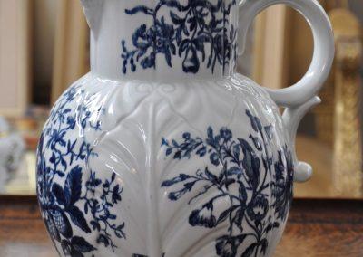 A 1st period Worcester jug circa 1770-1780.