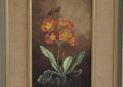 Margaret Rymill (1913-2004) Polyanthus, signed & dated 1979, oil on board.