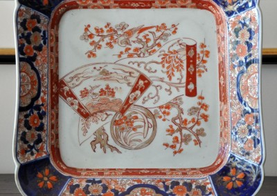 An Imari plate c.1880.