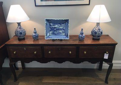An 18th c. English Oak Dresser
