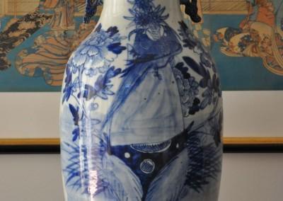 A 19th century Japanese vase 57cm c.1880.