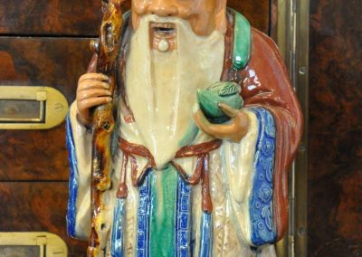 A Chinese figure of Shou Lao 'God of Longevity'