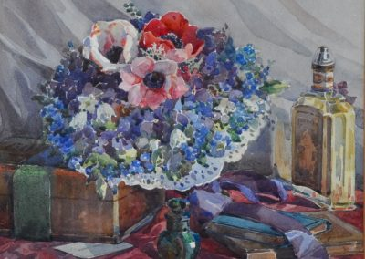 Gwyneth Richardson (1896-1980) Watercolour c.1940. 27x32cm