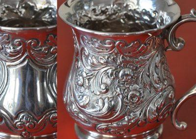 Sterling Silver Christening Mug. Birmingham 1903.