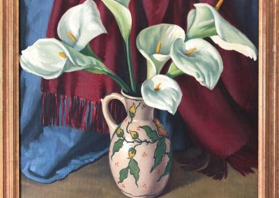 Frederick Millward Grey (1899-1957) Oil on board 56x51cm.