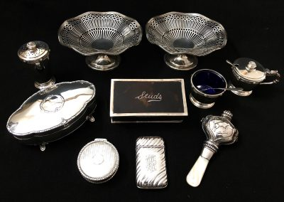 A collection of Sterling Silver.