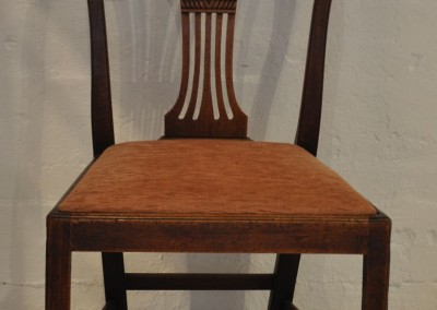 18th century mahogany chair.
