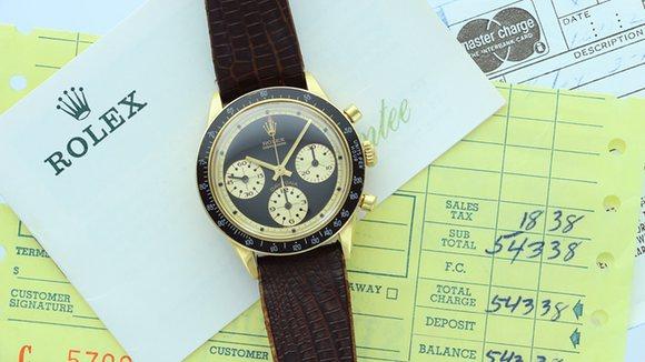 Roadshow unearths 73 Rolex Datona